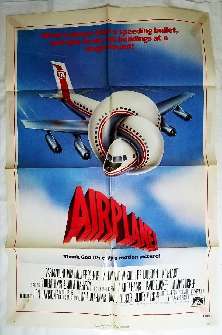 Airplane!: 1980 Comedy Movie Original Advance Poster