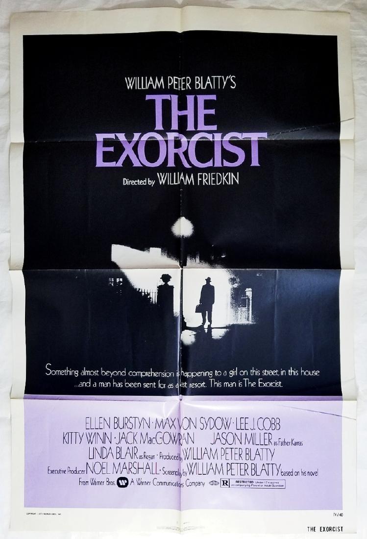 The Exorcist: 1973 Original Horror Movie Poster