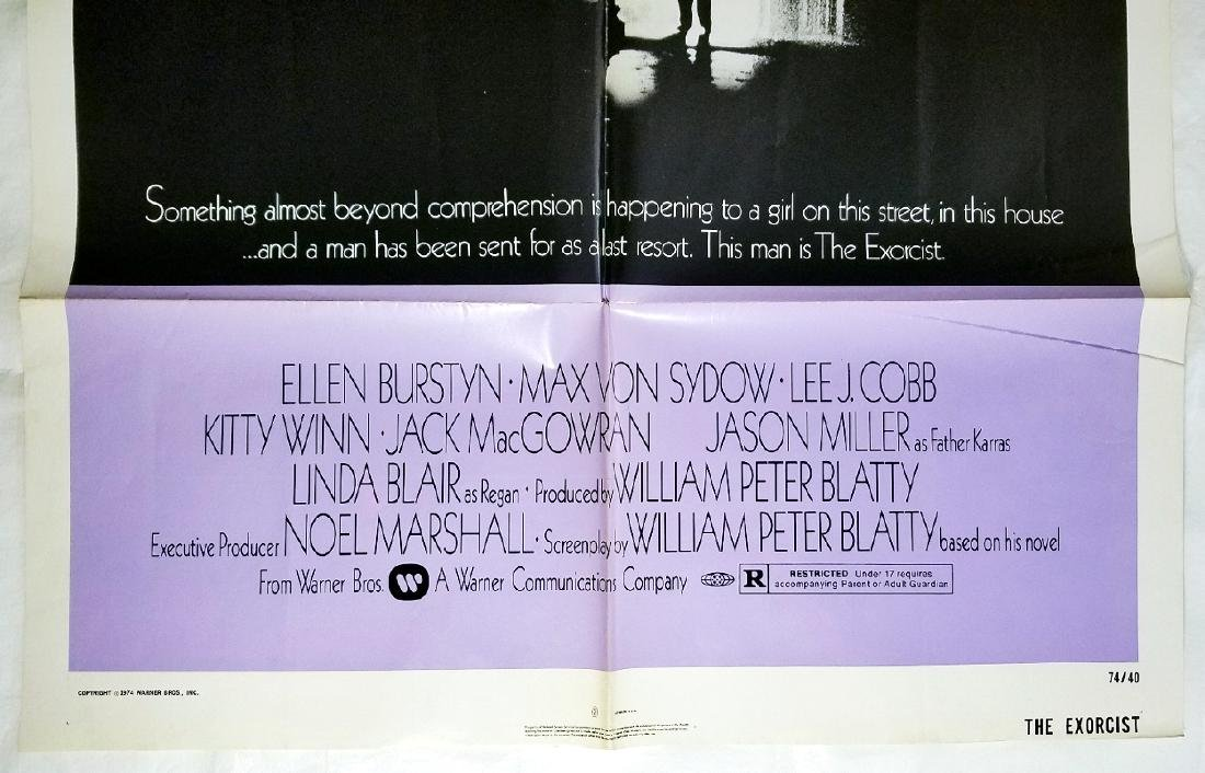 The Exorcist: 1973 Original Horror Movie Poster - 2