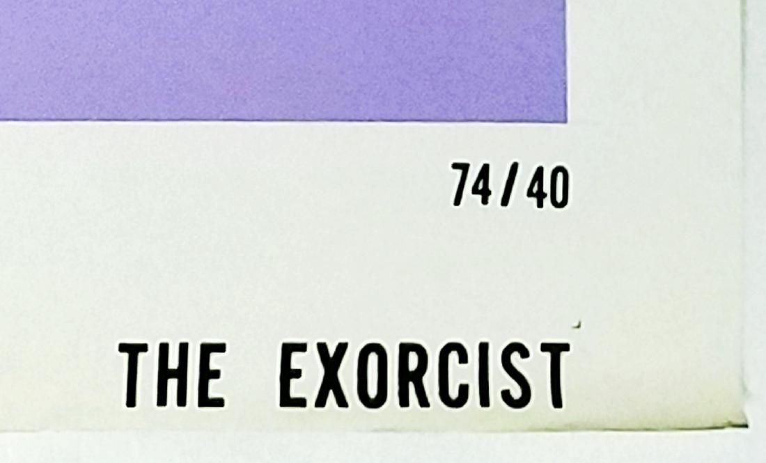 The Exorcist: 1973 Original Horror Movie Poster - 3