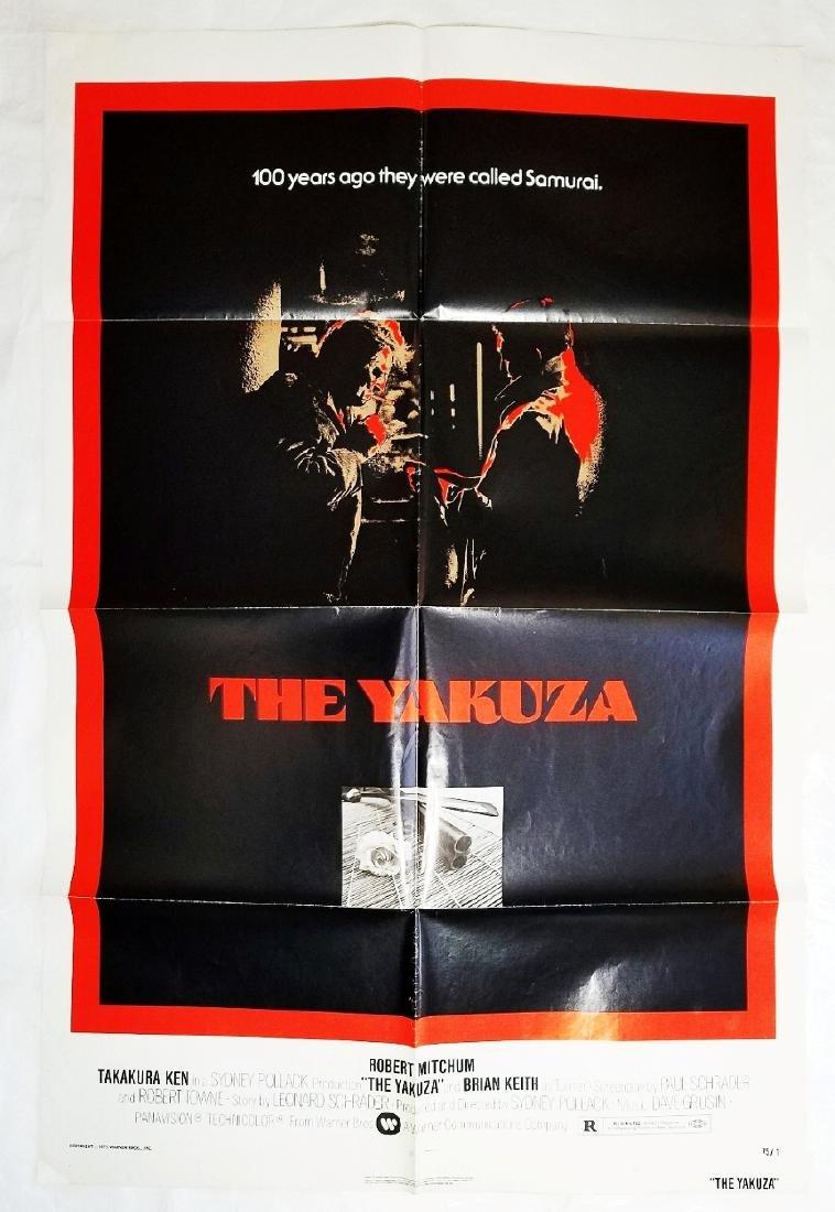 The Yakuza: 1974 Original Advance Noir Movie Poster