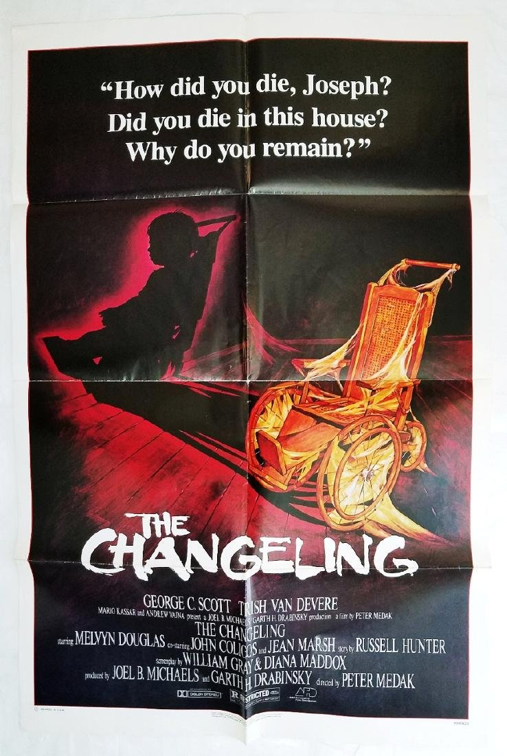 The Changeling: 1980 Original Horror Movie Poster
