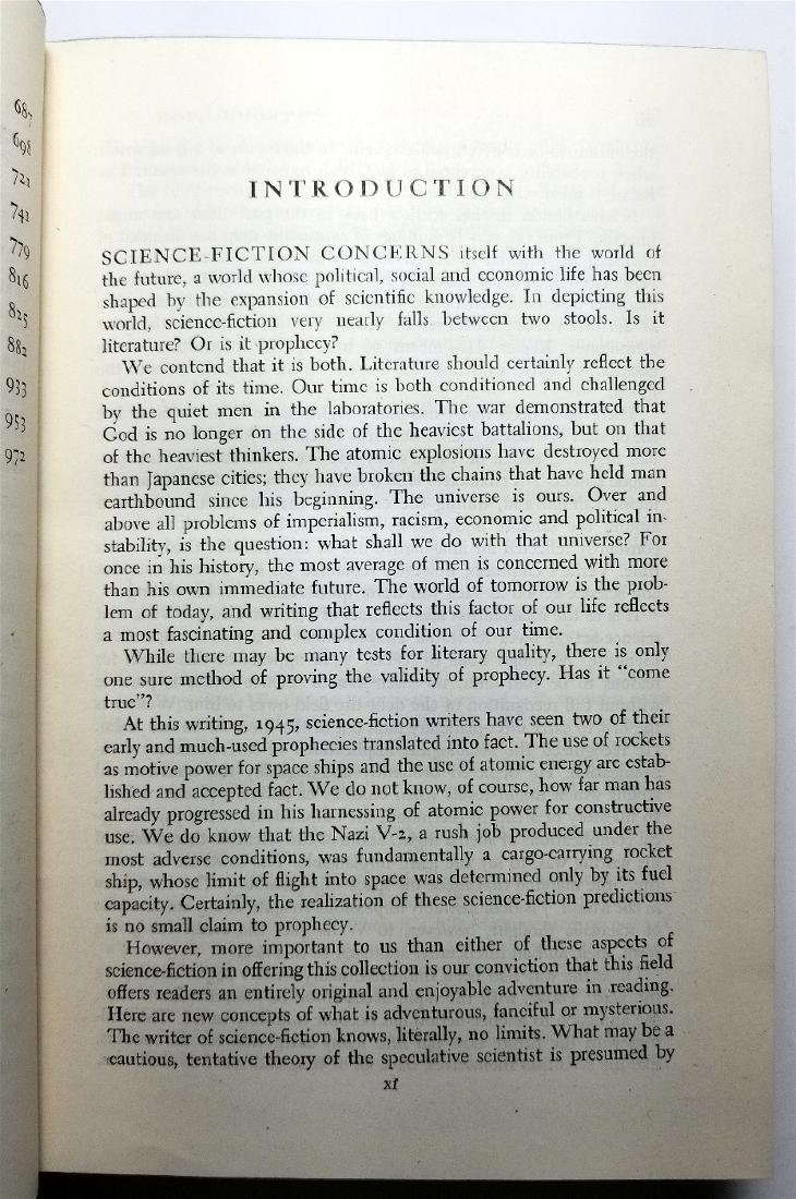 Adventures in Time and Space, 1946 Sci-Fi Anthology - 7