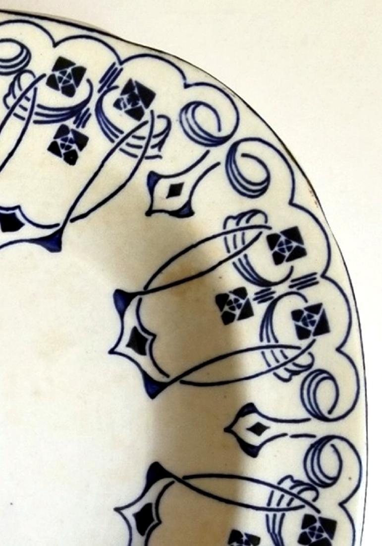Buffalo Pottery Semi-Vitreous Lucern Platter c.1912 - 5