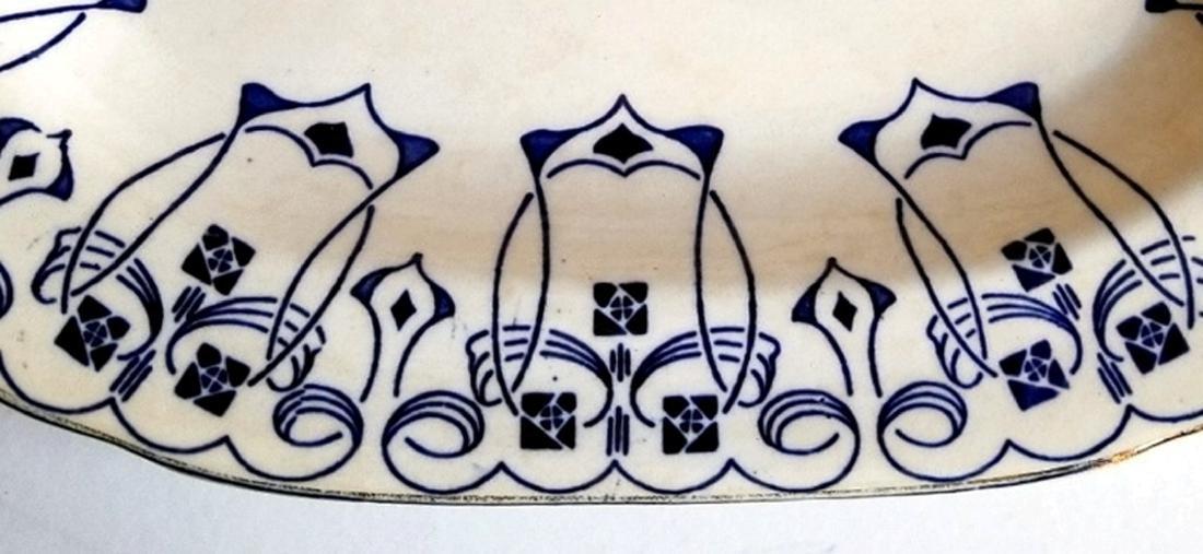 Buffalo Pottery Semi-Vitreous Lucern Platter c.1912 - 6
