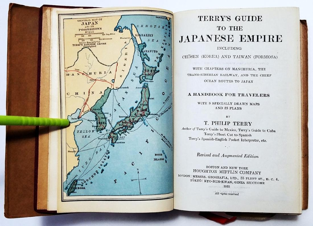 Terry's Guide: Japanese Empire. 1933, Houghton