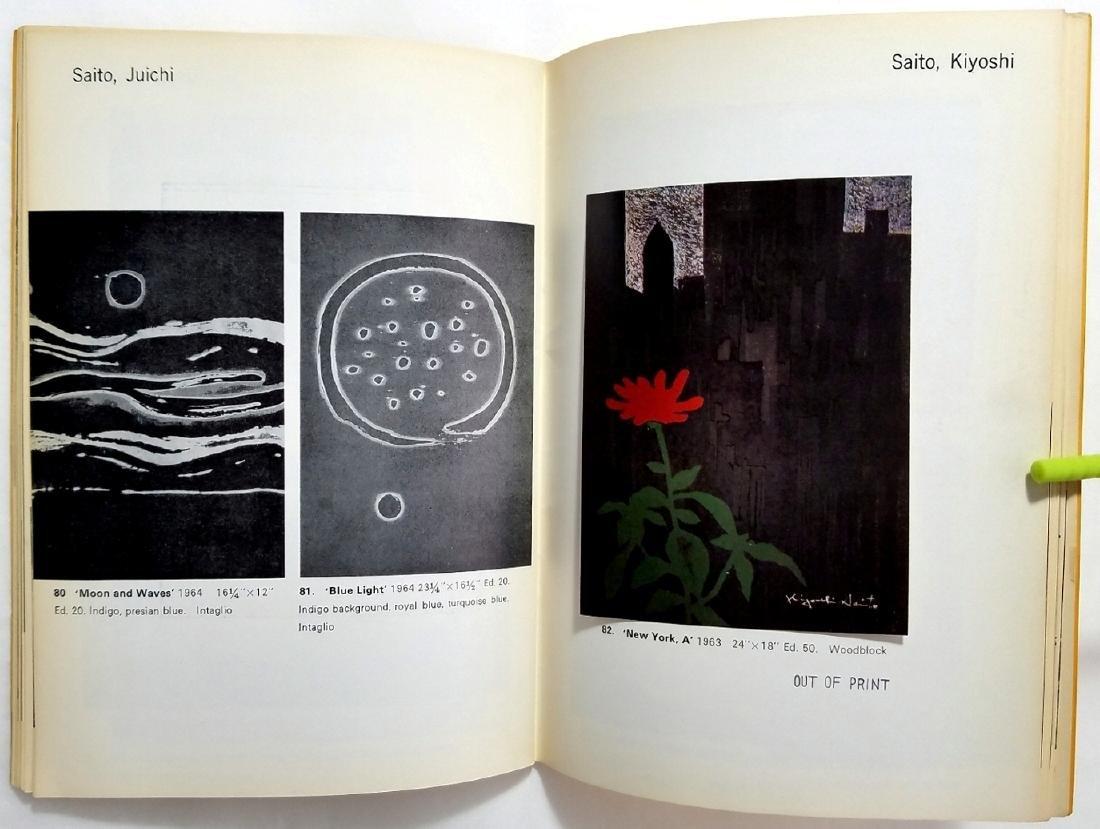 Yoseido Gallery Cat.No.4. Woodblock Prints 1966 Tokyo - 5