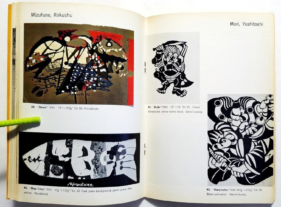 Yoseido Gallery Cat.No.4. Woodblock Prints 1966 Tokyo - 6
