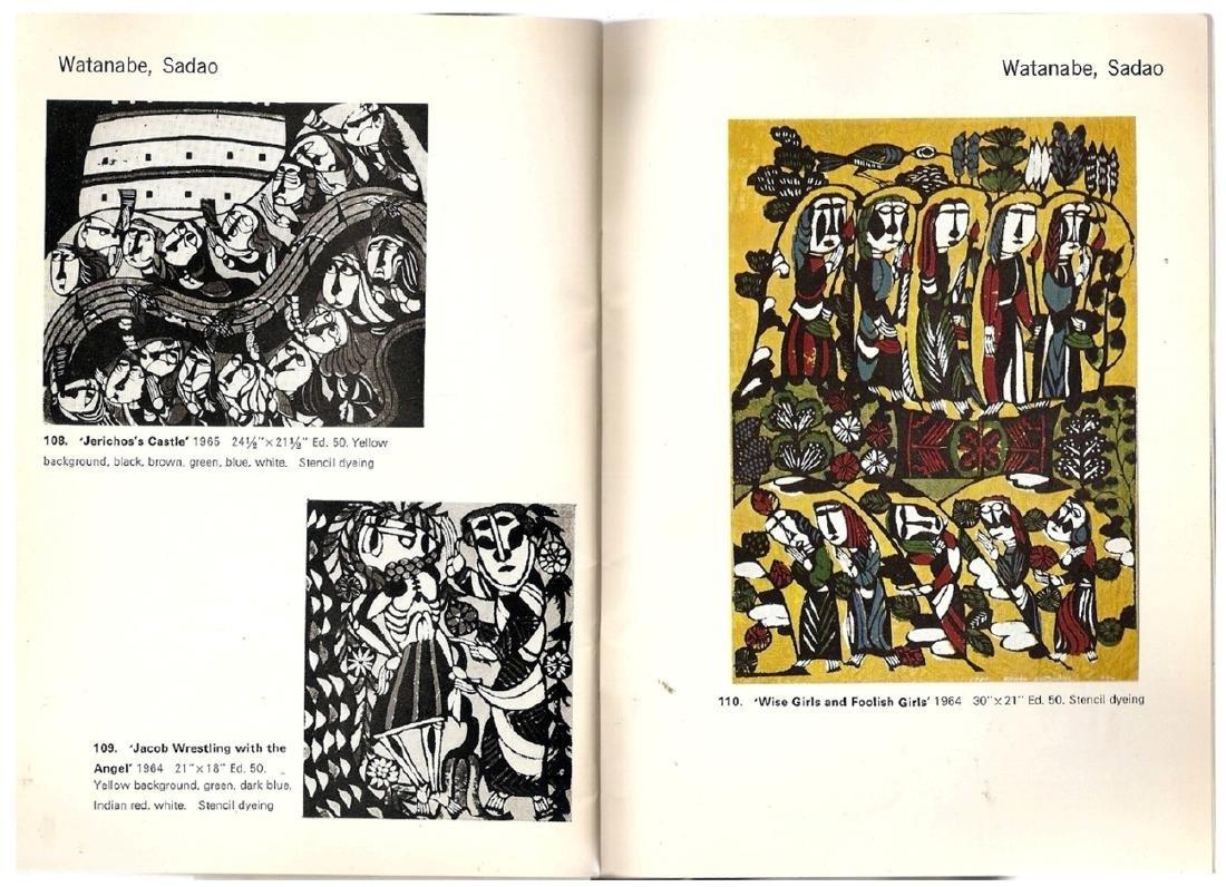 Yoseido Gallery Cat.No.4. Woodblock Prints 1966 Tokyo - 7
