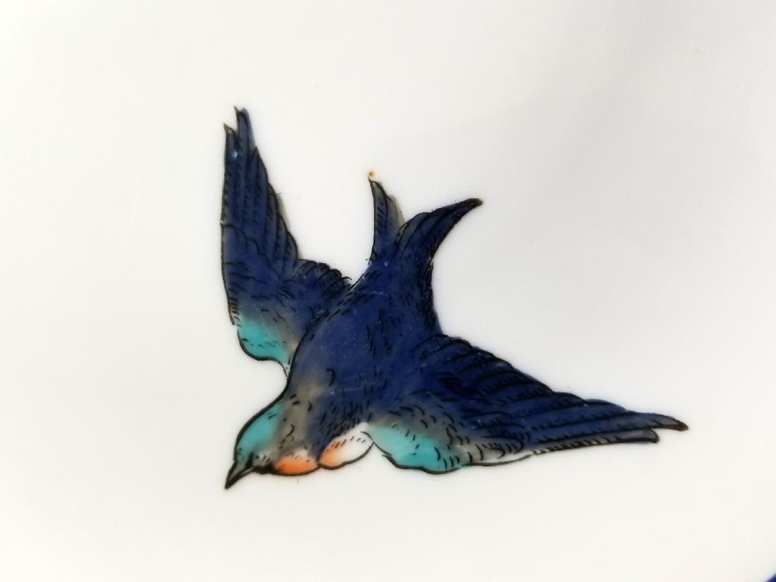 Noritake Nippon Hummingbirds Handled Plate c.1912 - 4