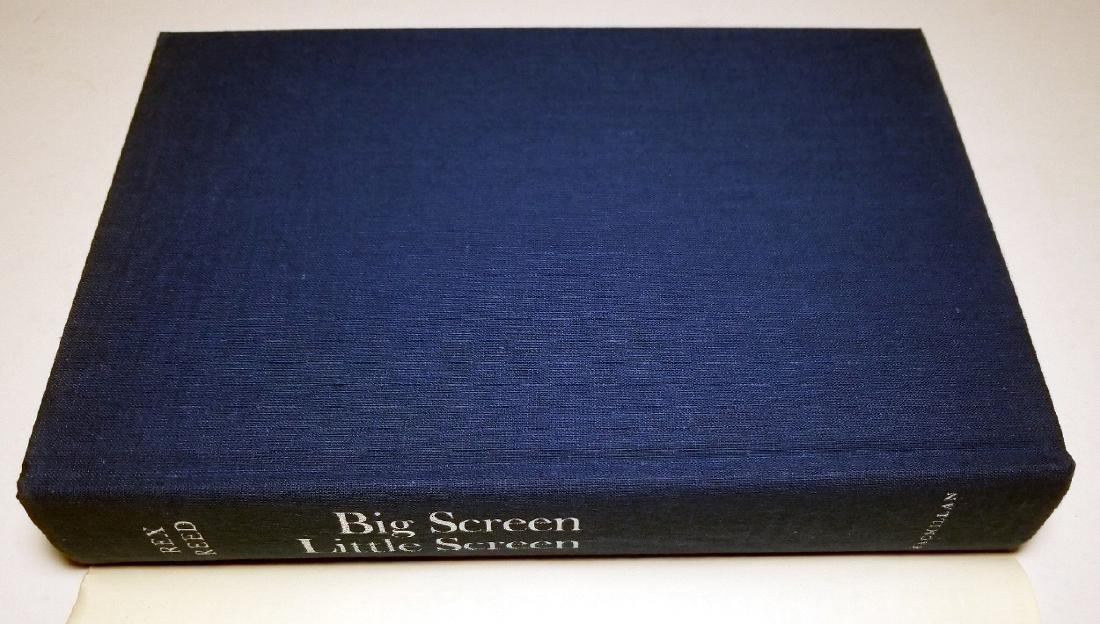 Rex Reed Signed: Big Screen, Little Screen, 1971 1st Ed - 2