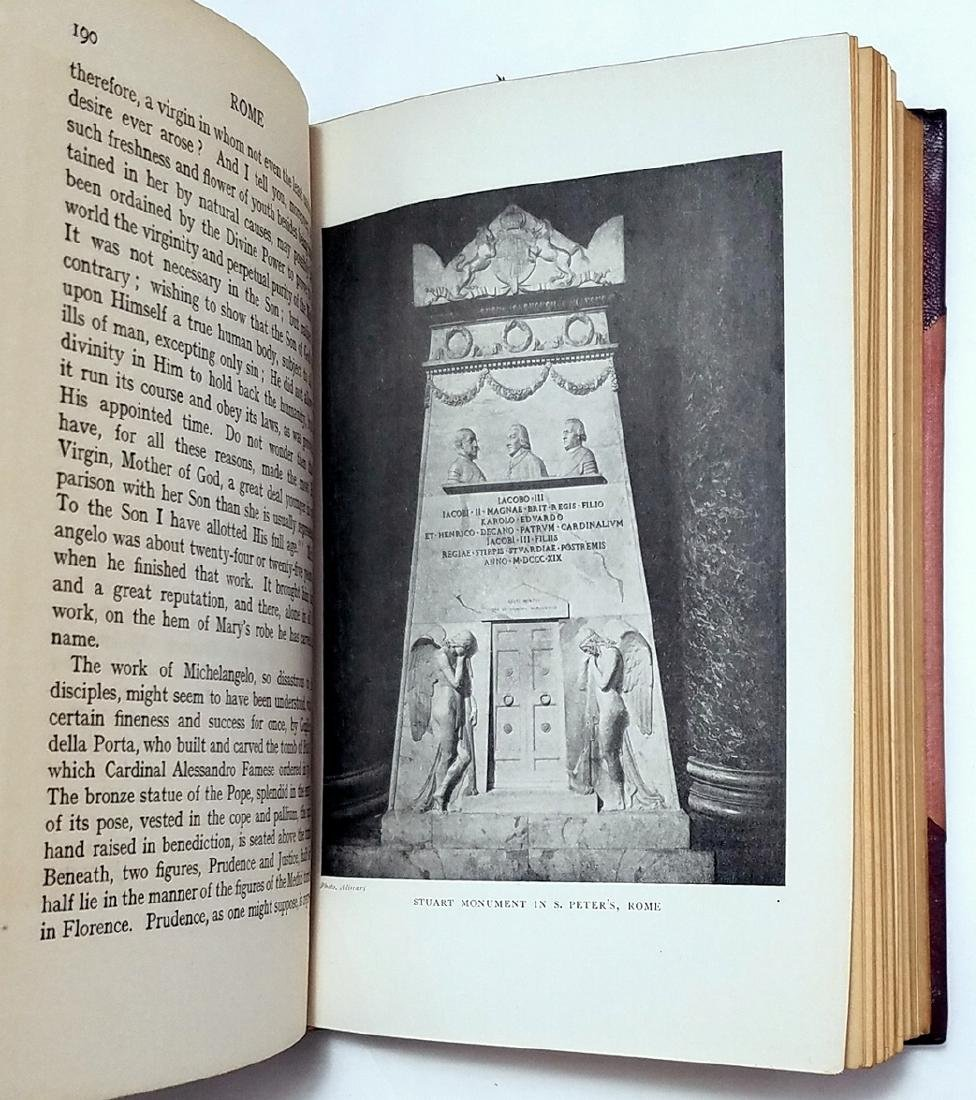 Edward Hutton: Rome. Illustrator Maxwell Armfield. 1924 - 7