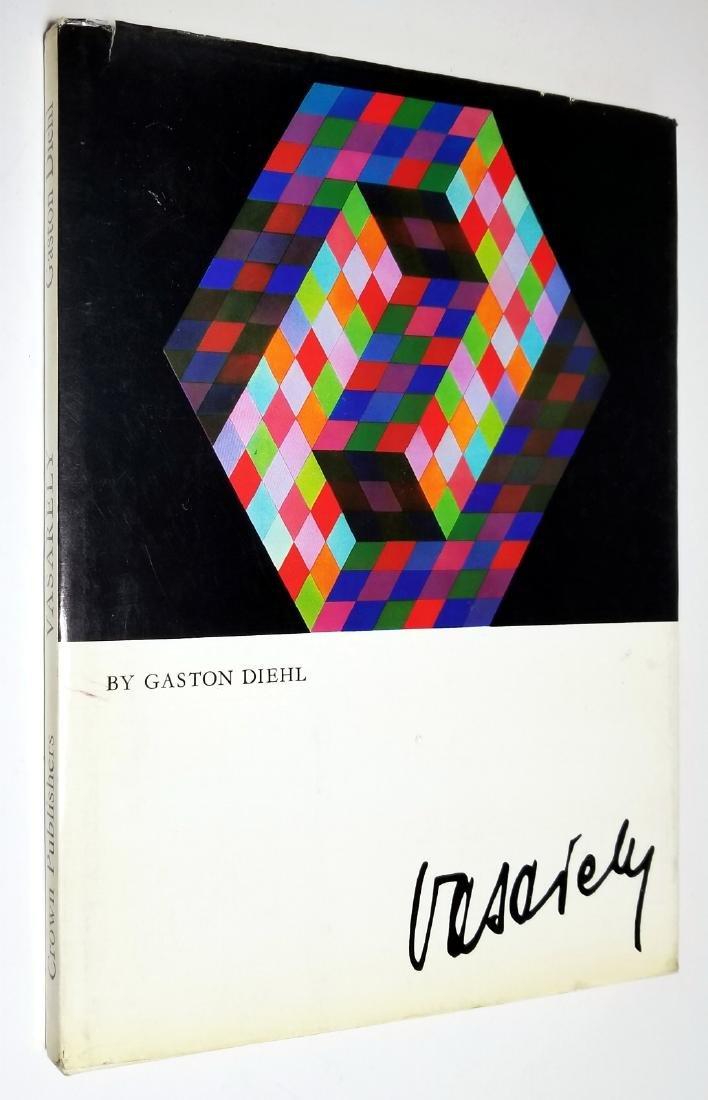 Victor Vasarely by Gaston Diehl. 1972, Crown Publishers