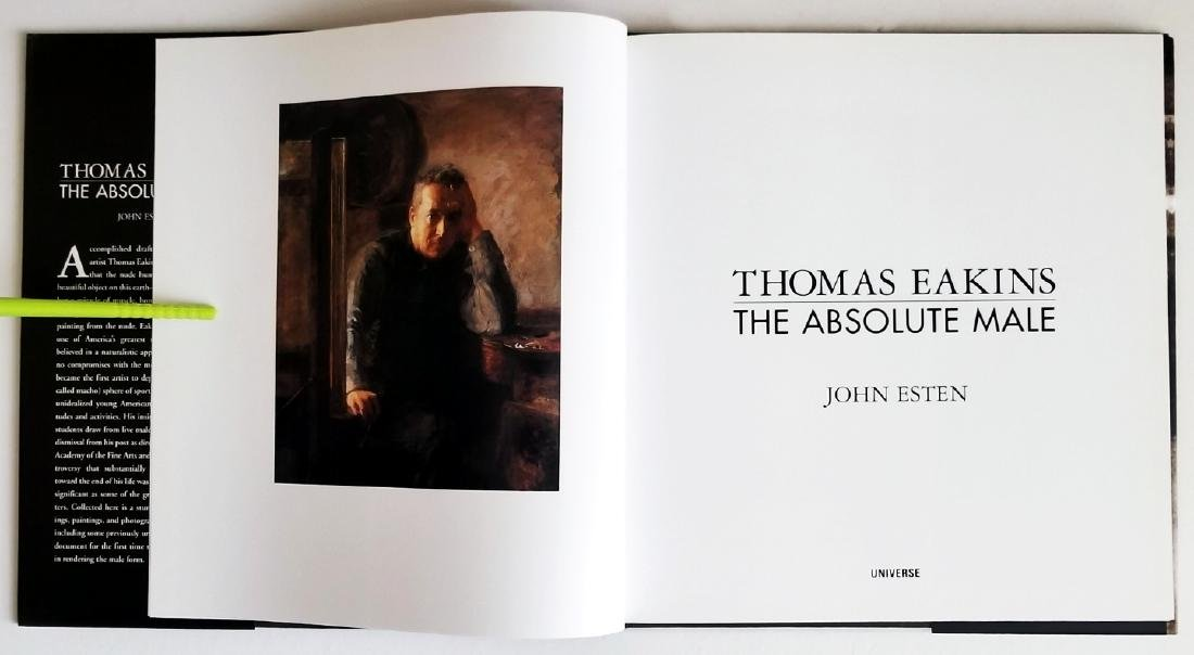 Thomas Eakins The Absolute Male. 2002, First edition - 3
