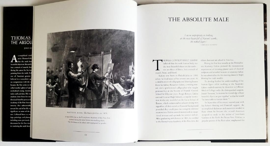 Thomas Eakins The Absolute Male. 2002, First edition - 5
