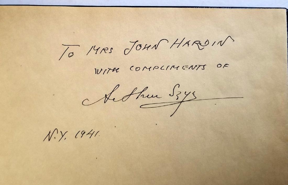 Arthur Szyk Inscribed Rubaiyat of Omar Khayyam 1940 1Ed - 2