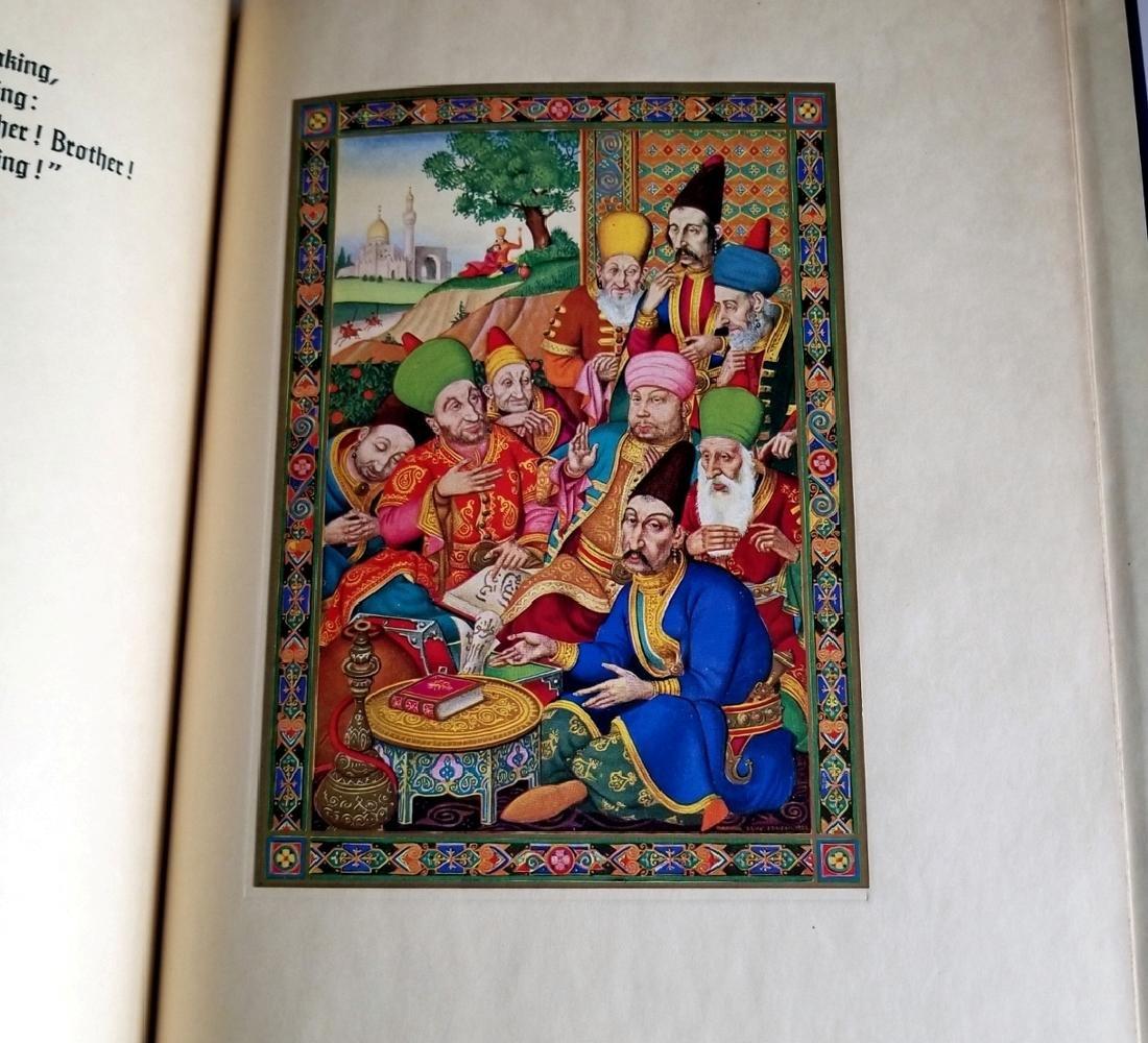 Arthur Szyk Inscribed Rubaiyat of Omar Khayyam 1940 1Ed - 6
