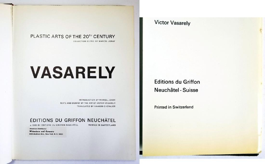 Vasarely, Plastic Arts of the 20th Century. 1965 Du - 3