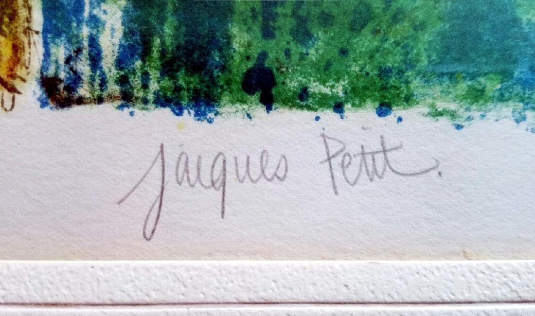 Jacques Petit (France) Le Gouter 1970 Signed Lithograph - 3