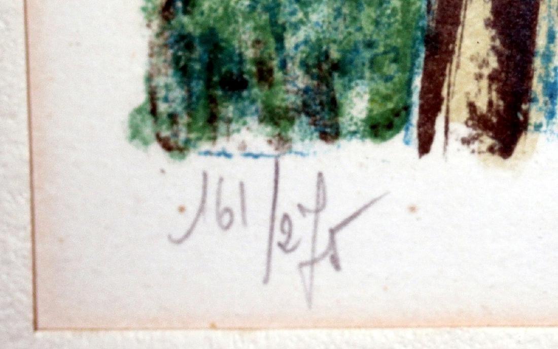 Jacques Petit (France) Le Gouter 1970 Signed Lithograph - 5
