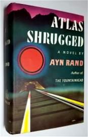 Ayn Rand: Atlas Shrugged 1957 First Edition 1st Print