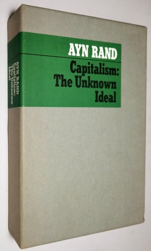 Ayn Rand Signed: Capitalism the Unknown Ideal 337/700 - 3