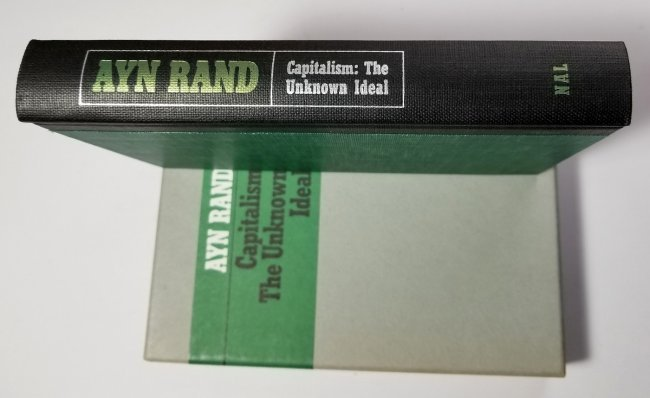 Ayn Rand Signed: Capitalism the Unknown Ideal 337/700 - 4