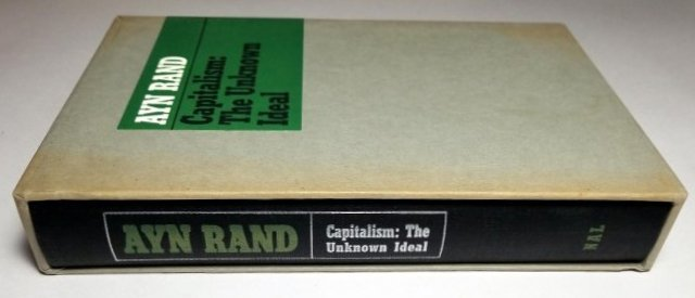 Ayn Rand Signed: Capitalism the Unknown Ideal 337/700 - 5