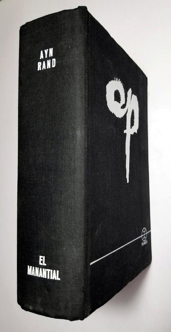 Ayn Rand: The Fountainhead. 1966, Spanish Edition
