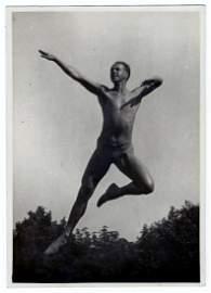 Gerhard Riebicke Attributed: Male Gymnast. 1920s Berlin
