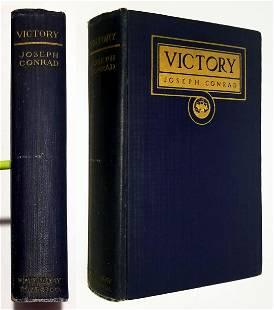 Joseph Conrad: Victory 1915 True First Edition