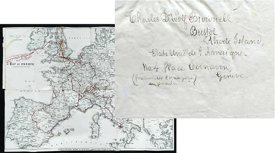 Charles DeWolf Brownell: European Drawings 1872 Pencil