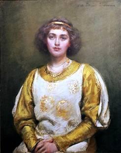 Rosina Emmet Sherwood: Young Lady 1910s Pastel