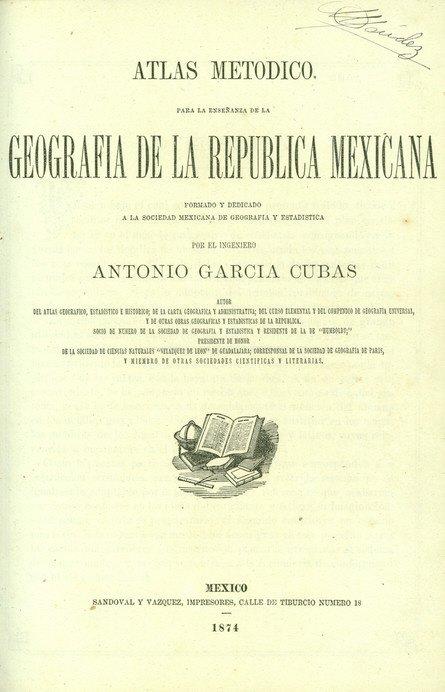 3: [ATLAS]. GARCÍA CUBAS, Antonio