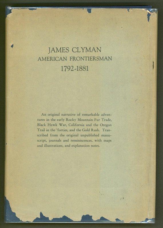 23: James Clyman, American Frontiersman, 1792–1881