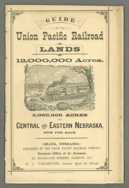 210: Guide to the Union Pacific Railroad Lands