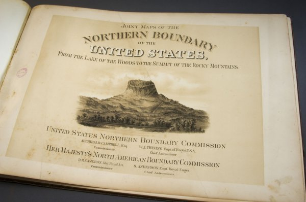 5: Joint Maps of the Northern Boundary of the US