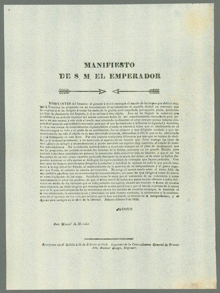 12: Bangs. Manifiesto de S. M. El Emperador