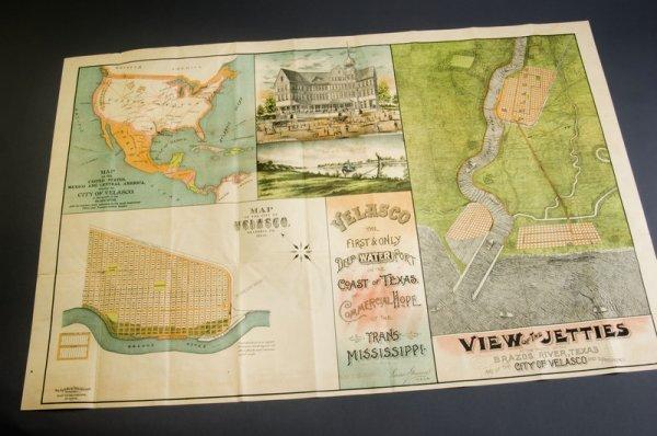 17: Bird's-eye View, Velasco, TX