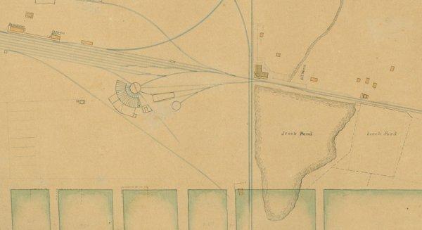 132: 2 Manuscript Maps of Fort Worth