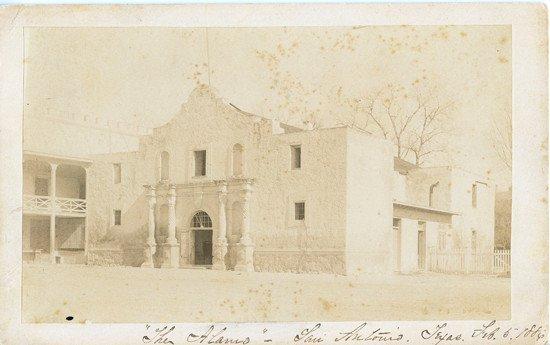 4: STURDEVANT, E. K. Photograph of the Alamo
