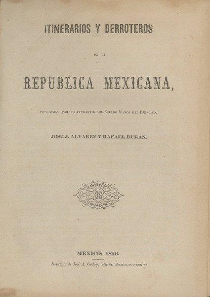 9: ÁLVAREZ & Durán. Itinerarios y derroteros....
