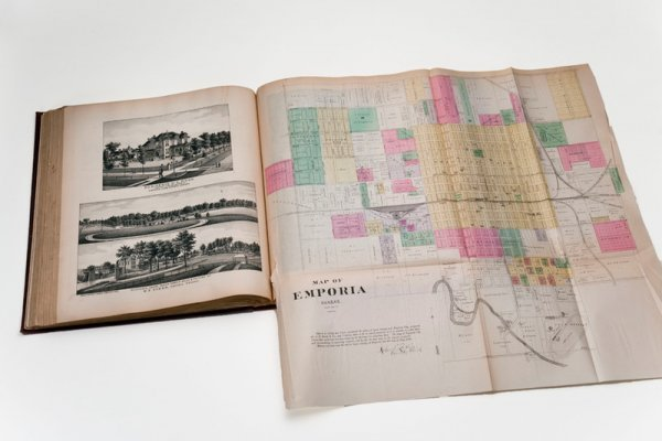 14: Official State Atlas of Kansas. 1887