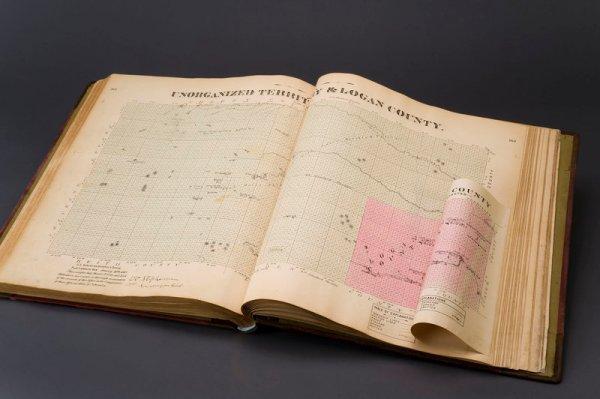 15: Official State Atlas of Nebraska. 1885