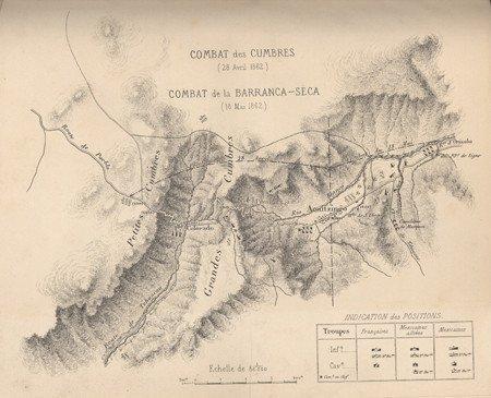 17: Atlas to Niox's Expédition du Mexique 1861-1867