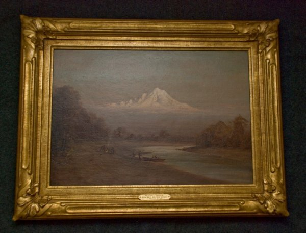 219: Edward Rufus Hill's Painting of Mount Hood