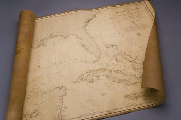 306: Coasting Chart for the Gulf of Mexico. 1853
