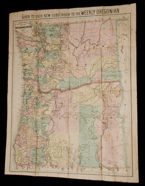 307: The Weekly Oregonian Map of Oregon & Washington