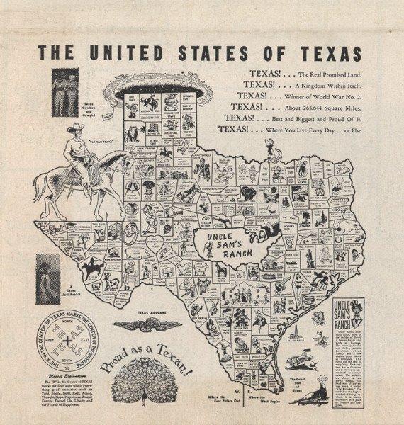 309: Wacky Texas Map
