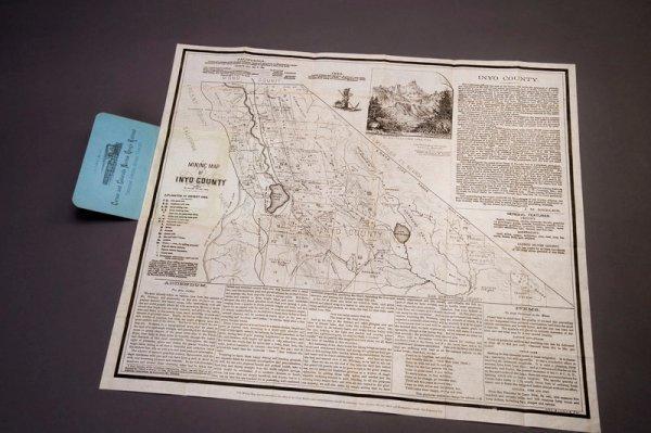 319: KEELER, J[ulius] M. Mining Map of Inyo County